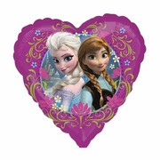 Frozen 18in Foil Heart Shaped Balloon Pk 1