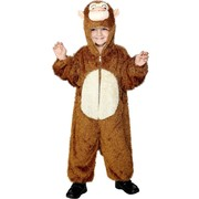 Monkey One Piece Suit Child Costume (Medium, 7-9 Years) Pk 1