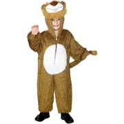 Lion One Piece Suit Child Costume (Medium, 7-9 Years) Pk 1