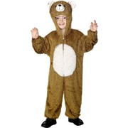 Bear One Piece Suit Child Costume (Medium, 7-9 Years) Pk 1