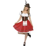 Women's Oktoberfest Bavarian Wench Costume (Medium, 12-14) Pk 1