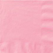 Lovely Pink Lunch Napkins Pk 20