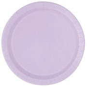 Lavender 9in. Paper Plates Pk 16