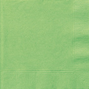 Lime Green Cocktail Napkins Pk 20