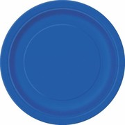 Royal Blue 7in. Paper Plates Pk 20