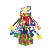 Block Party Mini Cascade Centrepiece (36.8cm) Pk 1