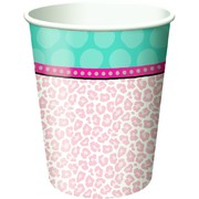 Sparkle Spa Party 9oz. Paper Cups Pk 8