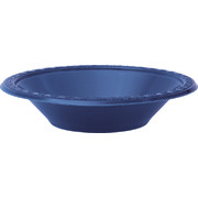 Navy Blue Bowls (172mm) Pk 8
