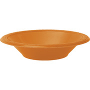 Orange Bowls (178mm) Pk 8
