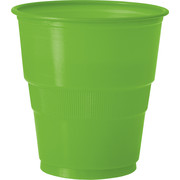 Lime Plastic Cups (9oz / 270ml) Pk 12