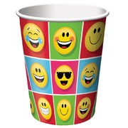 Show Your Emojions Emoji 9oz Paper Cups Pk 8