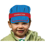 All Aboard Train Party Conductor Headbands Pk 8