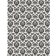 Damask Black & White Photo Backdrop (182cm x 137cm) Pk 1