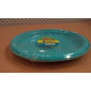 Caribbean Teal 9in. Plates Pk 8