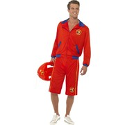 Mens Baywatch Lifeguard Adult Costume (Large, 42-44)