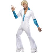Disco Man Suit Adult Costume (Large, 42-44)