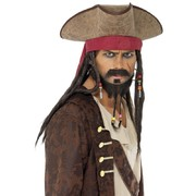 Pirate Hat with Dreadlocks Pk 1
