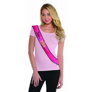 Future Mrs. Hen's Night Pink Sash Pk 1