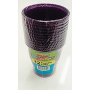Purple Plastic Cups (9oz-270ml) Pk 12