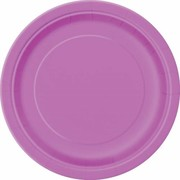 Pretty Purple 9in. Paper Plates Pk 16