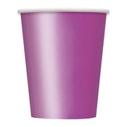 Pretty Purple 9oz. Paper Cups Pk 14