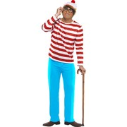 Adult Where's Wally Costume Large Pk 1