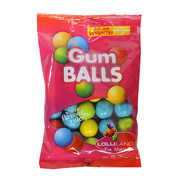 Assorted Colour Gum Balls (225g)