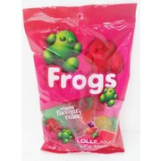 Assorted Colour Lolly Frogs (180g)
