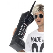 80's Inflatable Retro Mobile Phone Prop Pk 1