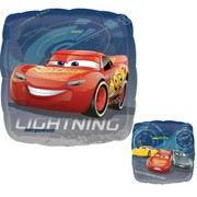Cars 3 Square 17in. Foil Balloon Pk 1