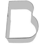 Alphabet Cookie Cutter - Letter B (3in.) Pk 1