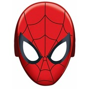 Spiderman Party Cardboard Masks Pk 8