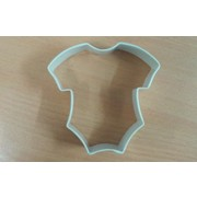 White Baby Romper Cookie Cutter (3in.) Pk 1