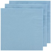 Light Blue Party Napkins - Dinner 2 ply Pk100
