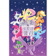 My Little Pony Friendship Plastic Loot Bags Pk 8