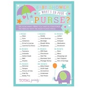 Baby Shower Game - Whats in Your Purse Pk 1