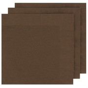 Chocolate Party Napkins - Dinner 2 ply Pk50