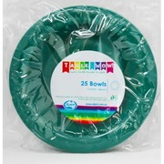 Dark Hunter Green Bowls 180mm  Pk 25