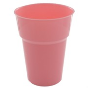 Light Pink Plastic Cups - 285ml Pk25