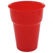 Red Plastic Cups - 285ml Pk25
