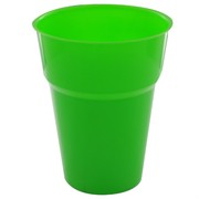 Lime Green Plastic Cups - 285ml Pk25