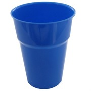 Royal Blue Plastic Cups 285ml Pk25