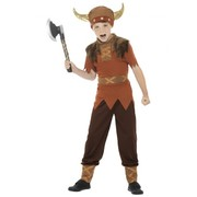 Child Viking Costume - Large 10-12 Yrs