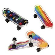 Mini Skateboard Party Favours Pk 12
