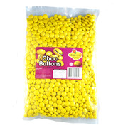 Yellow Chocolate Buttons (1kg)