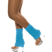 Neon Blue Leg Warmers (1 PAIR)