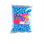 Blue Coated Chocolate Balls - Coconut Flavour (1kg)
