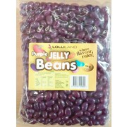 Mini Purple Grape Flavour Jelly Beans (1kg)