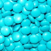 Blue Chocolate Button Drops 1kg