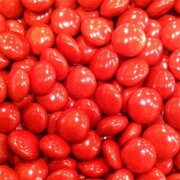 Red Chocolate Button Drops 1kg